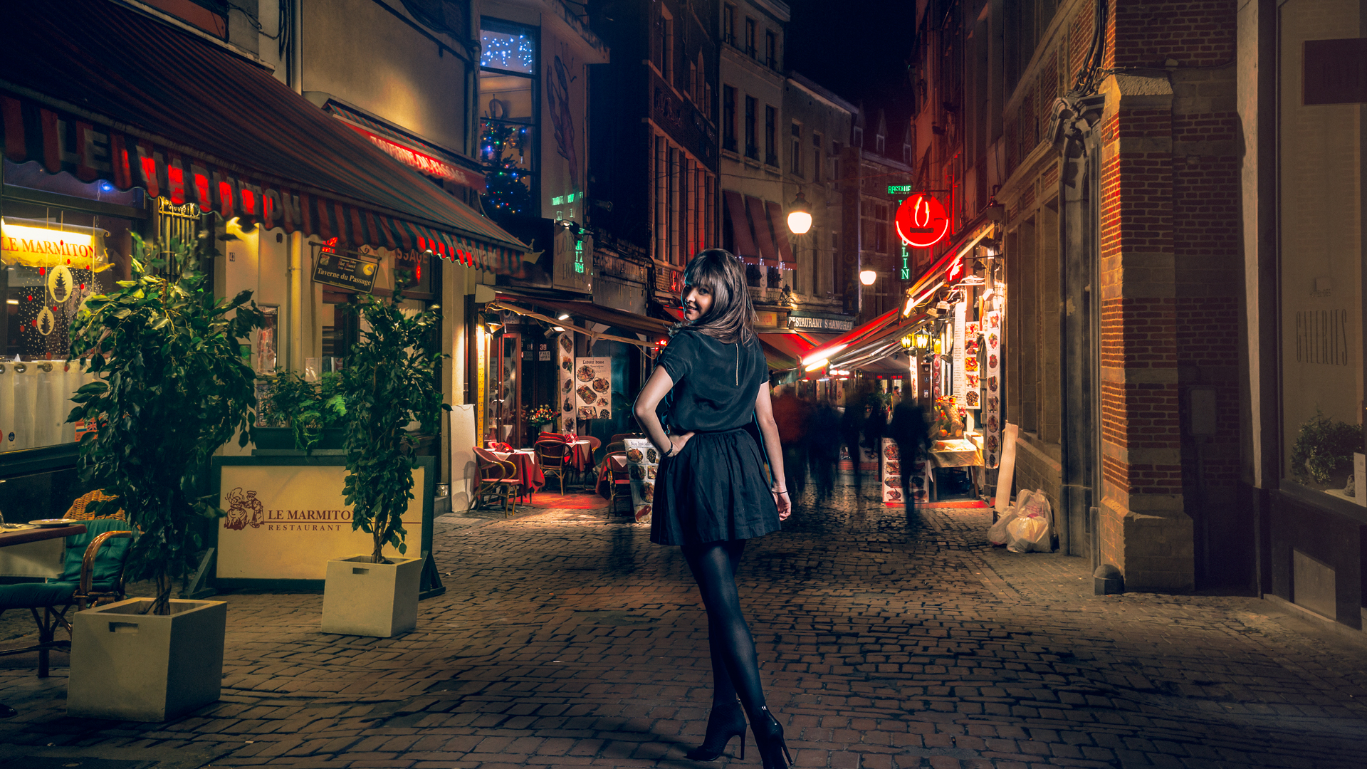 Parisienne in Brussels 3