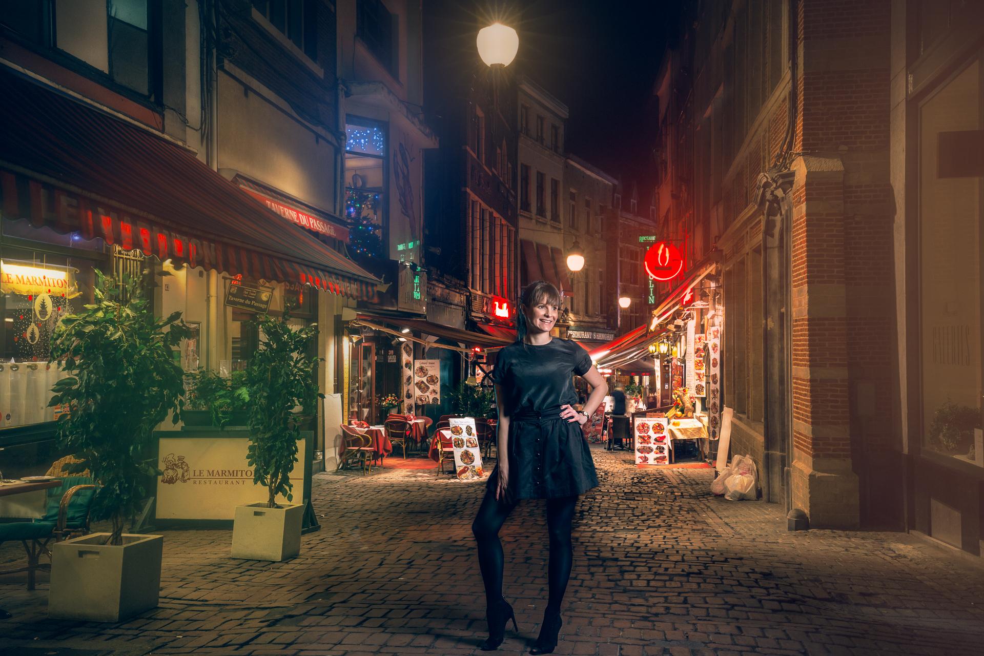 Parisienne in Brussels 4